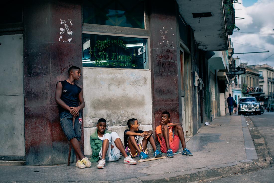 Kids streets havana
