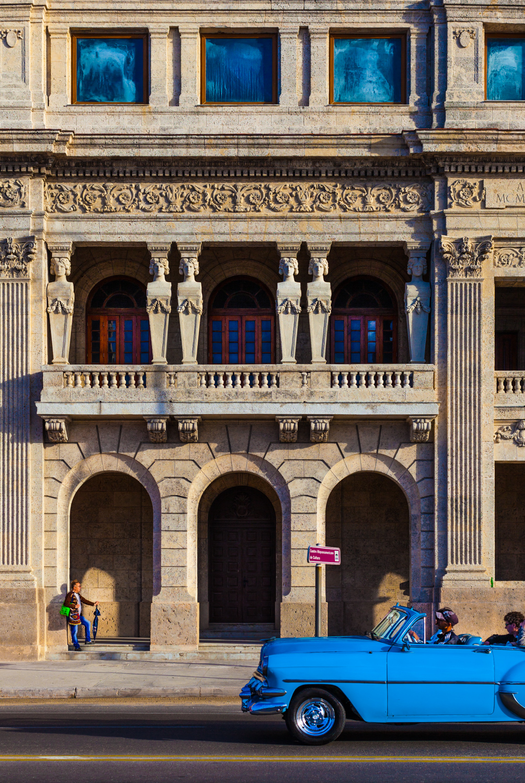 Havana Malecon composition photo
