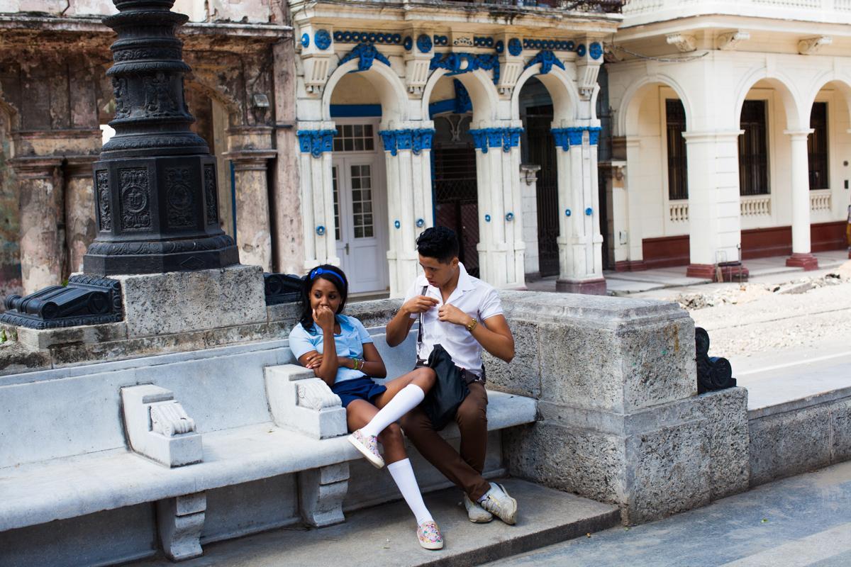 Flirting Paseo de Prado Havana