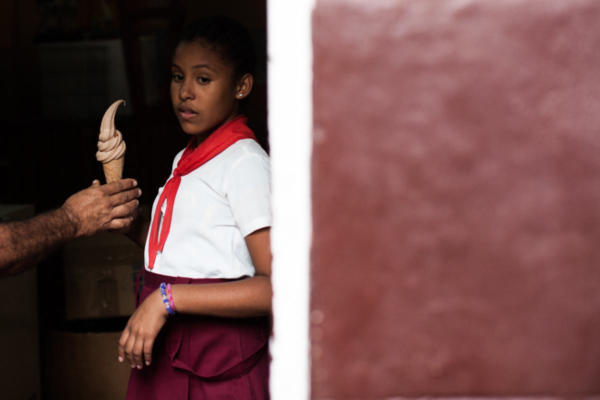 school uniform Cuba