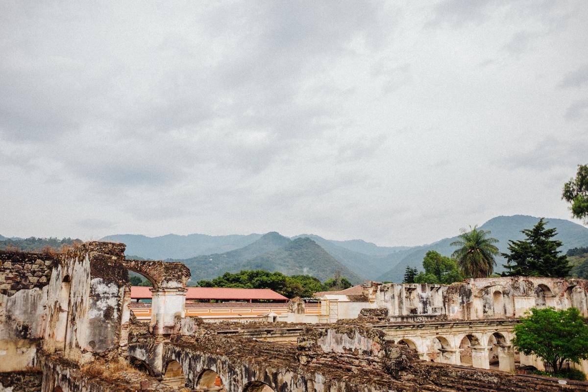 Gardens at Convento Santa Clara, Antigua Guatemala