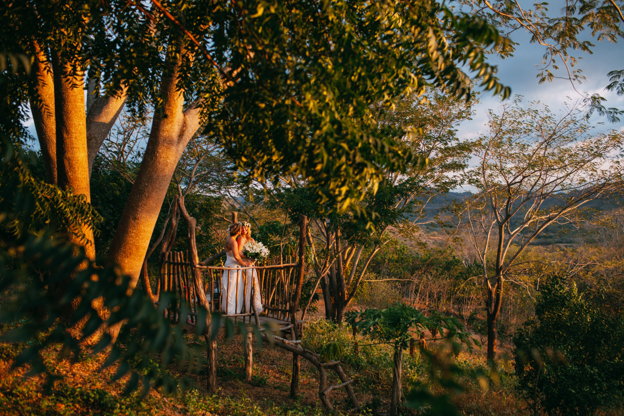 Coast Wedding in the forest, near San juan del Sur, Nicaragua