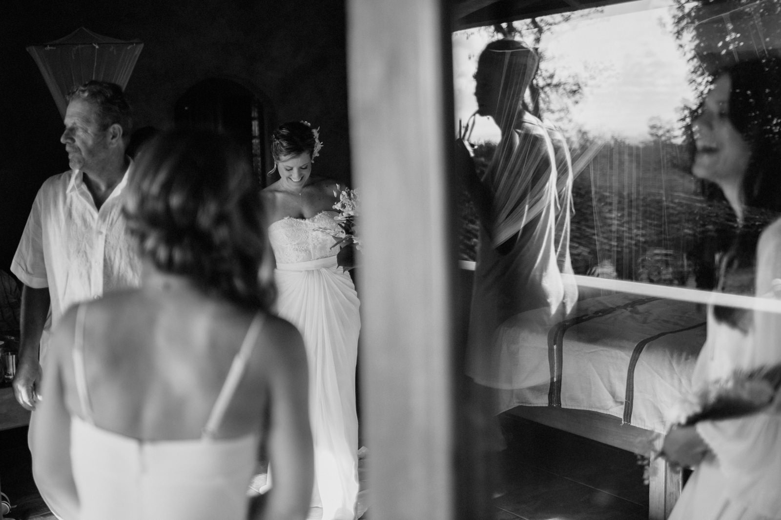 Wedding preparation photography Nicaragua
