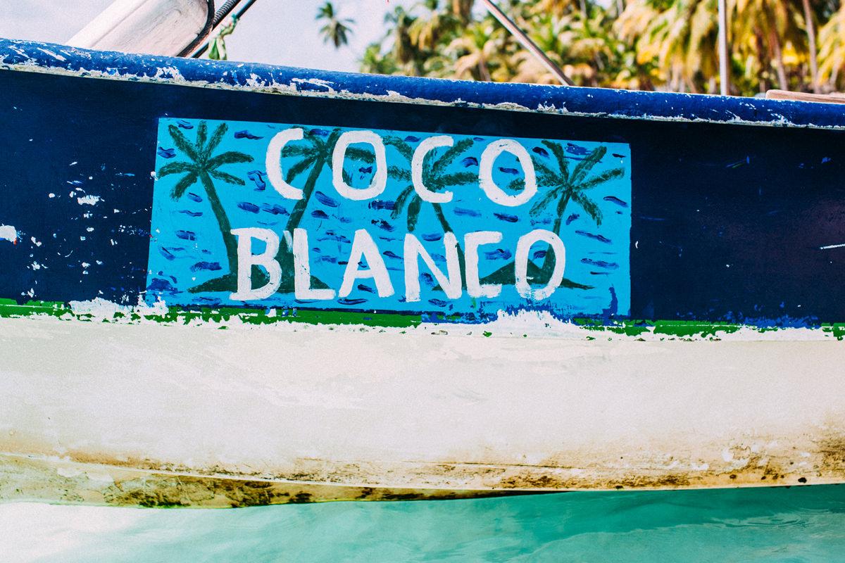 Coco Blanco. San Blas