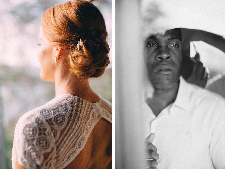 Bride and groom destination wedding Nicaragua