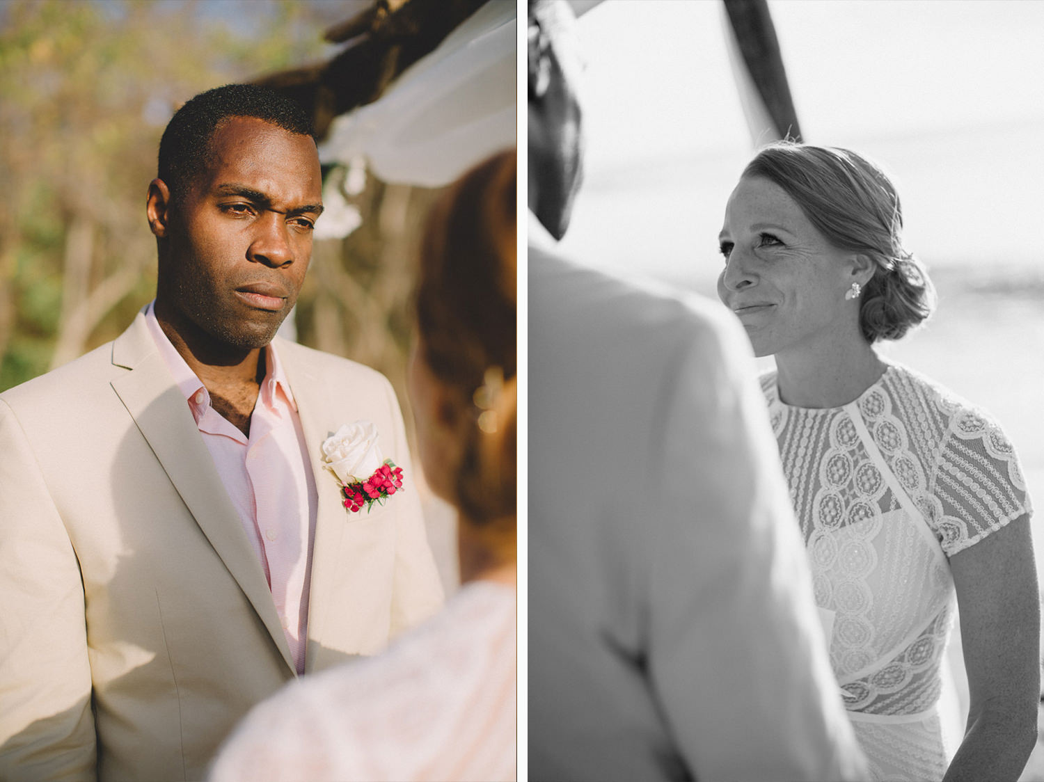 Megan and Aquil getting married in Nicaragua