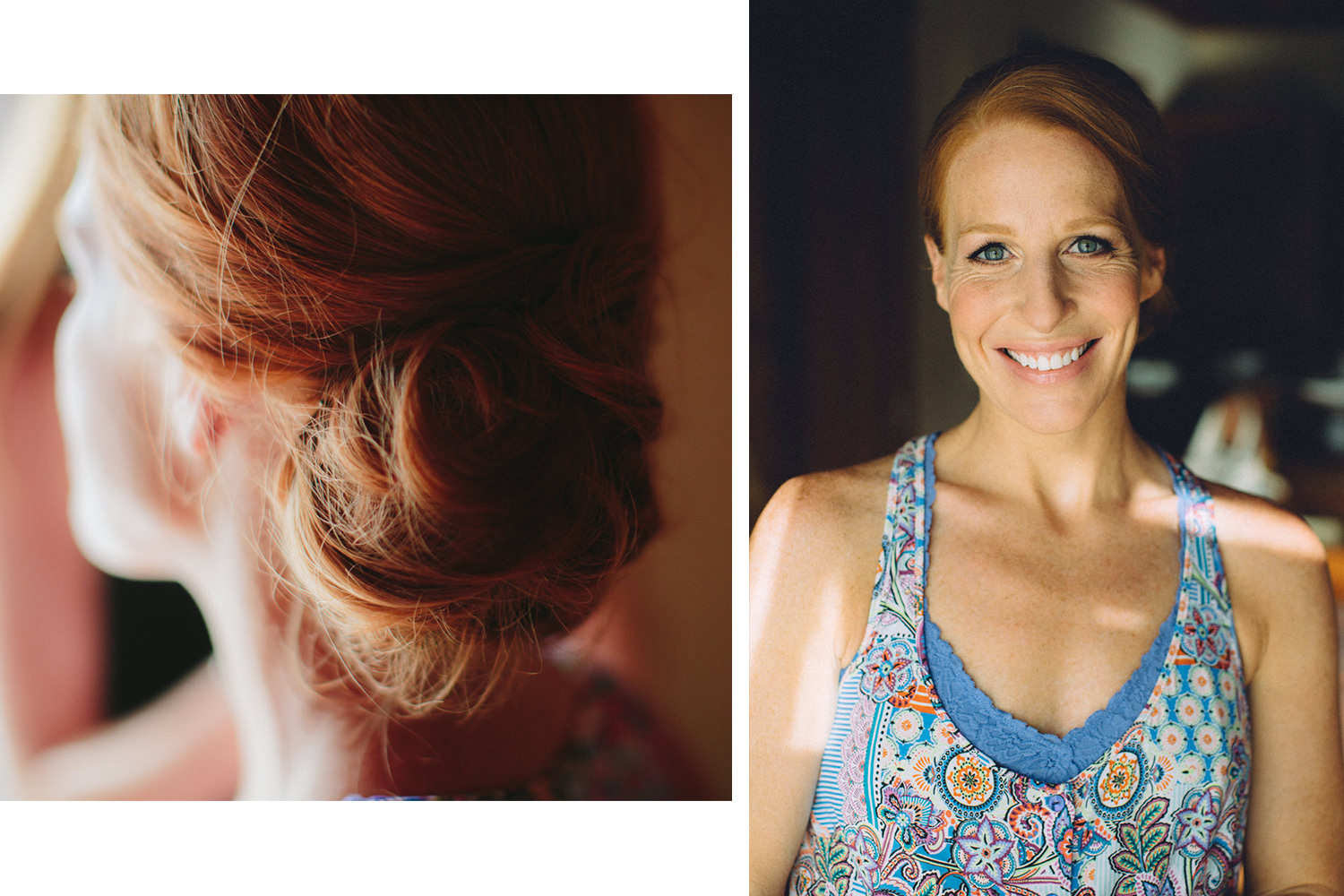 The bride getting ready for her destination wedding in Nicaragua