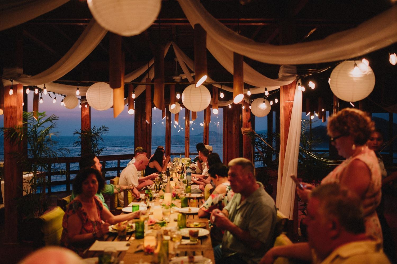 wedding dinner nicaragua
