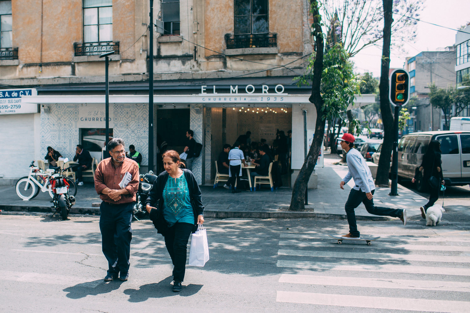 Roma Norte is a trendy neighbourhood full of restaurants, hipster-run coffee shops, bars, parks, markets and shops buoyed by boundless artistic entrepreneurialism.