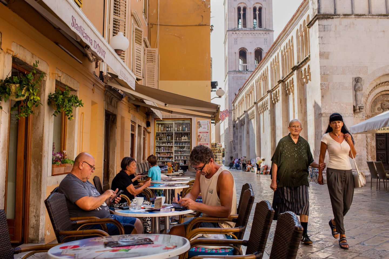 Zadar downtown