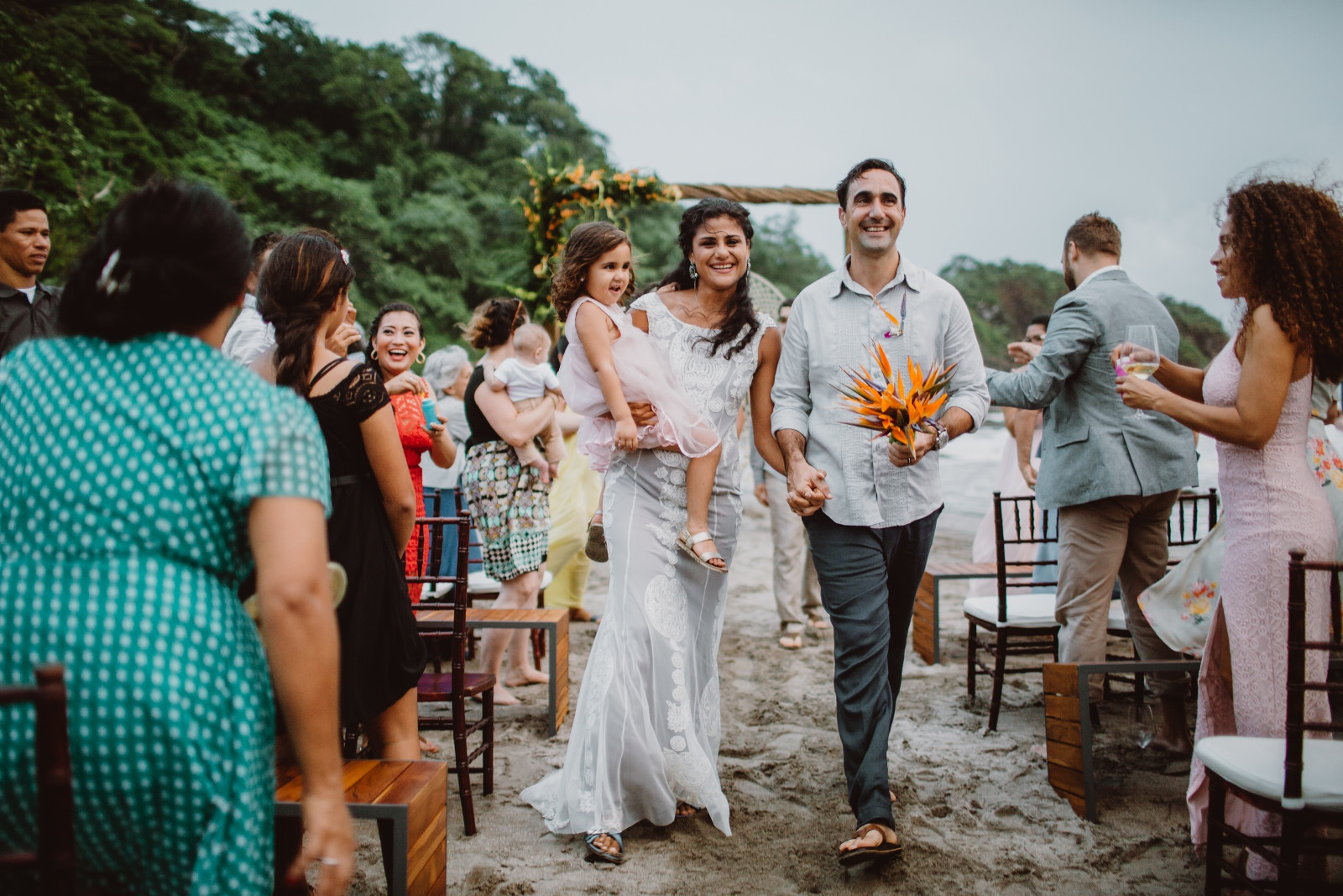 Wedding photographer in Coco beach, Costa Rica