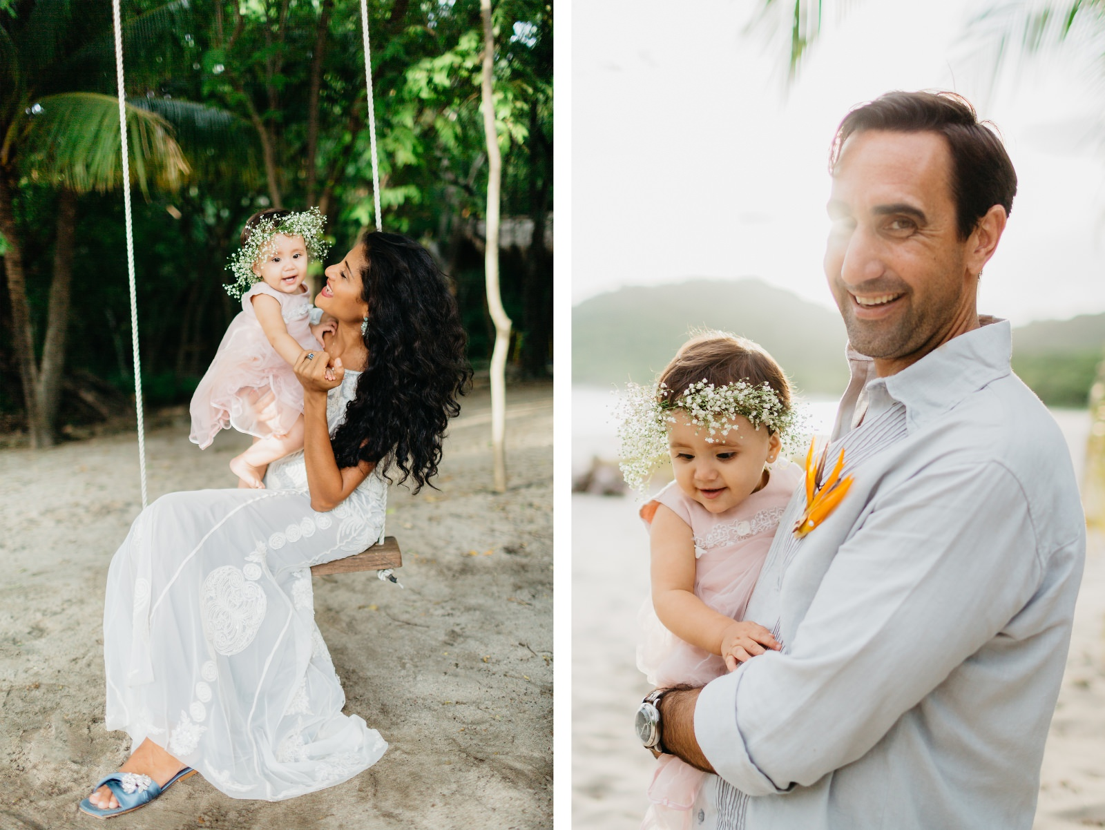 Family photography in Tamarindo Costa Rica