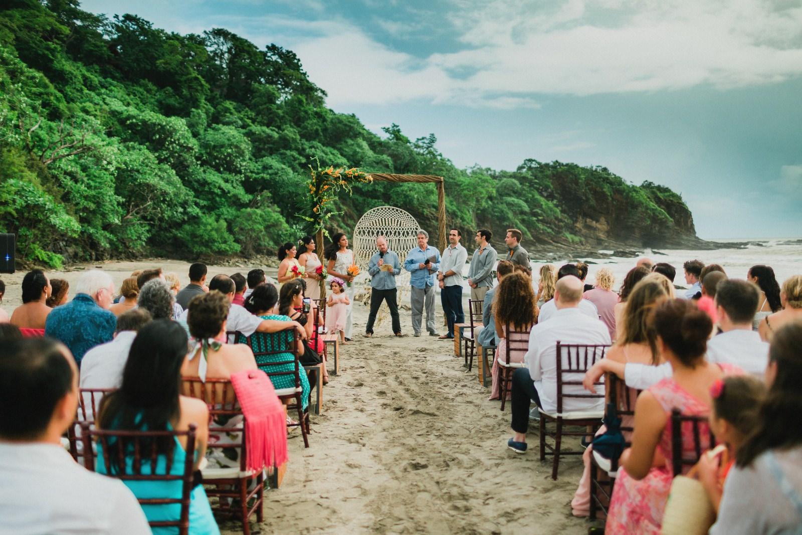 Costa Rica Destination Wedding - Aram + Abril