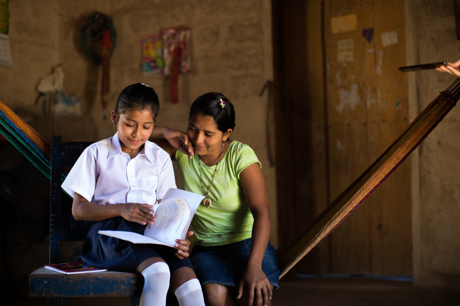 Mom doing class with her daughter - humanitarian photography-Exposure.jpg