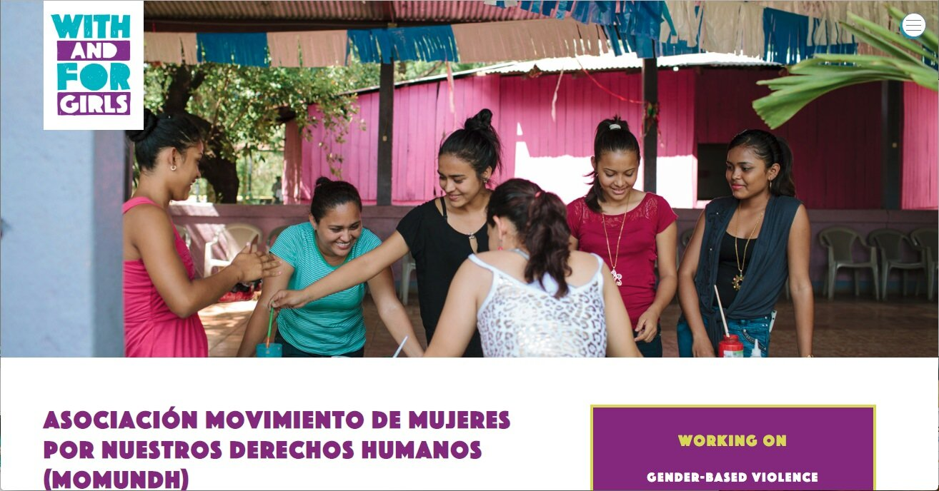 With and For Girls | Stars Foundation  https://www.withandforgirls.org/awards/asociacion-movimiento-de-mujeres-por-nuestros-derechos-humanos-momundh