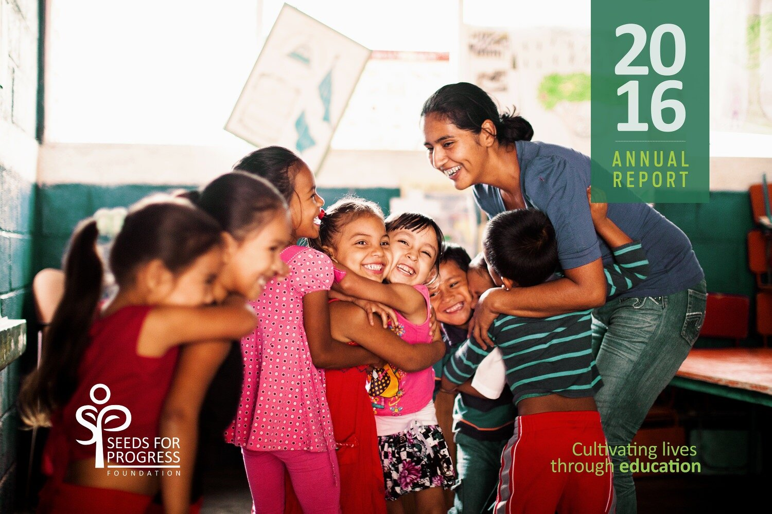 Annual Report Cover |  Seeds for Progress Foundation