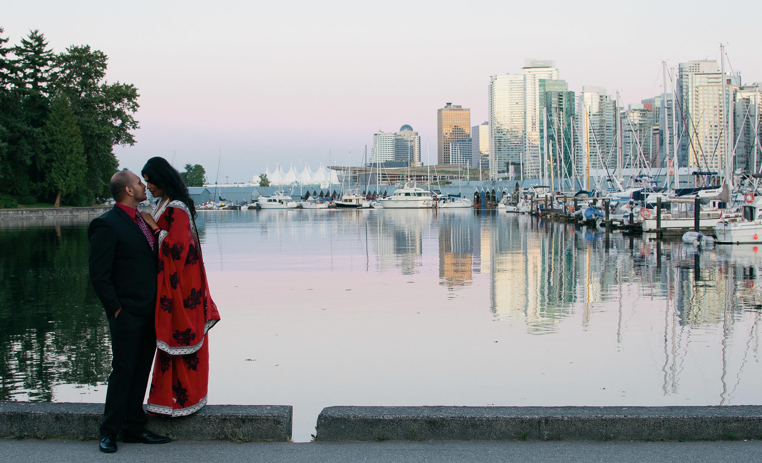 Amresh + Salona_Katie Powell Photography Vancouver Engagement Stanley Park Portraits-19.jpg