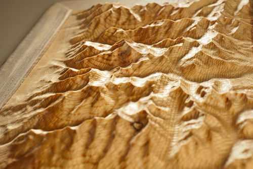 Beautiful detail that replicates real world topography.