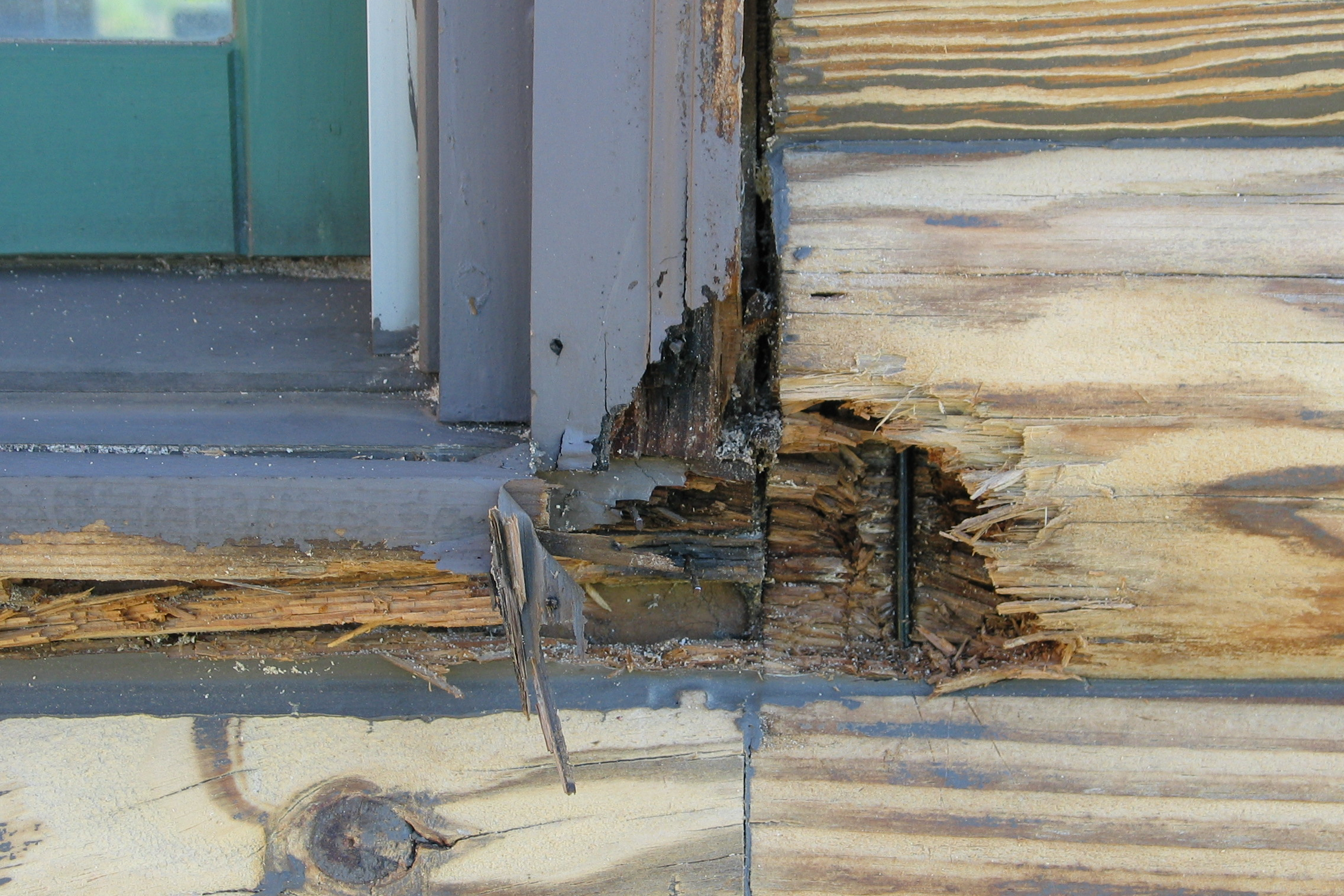 Proper maintenance is required to prevent decay of your home.