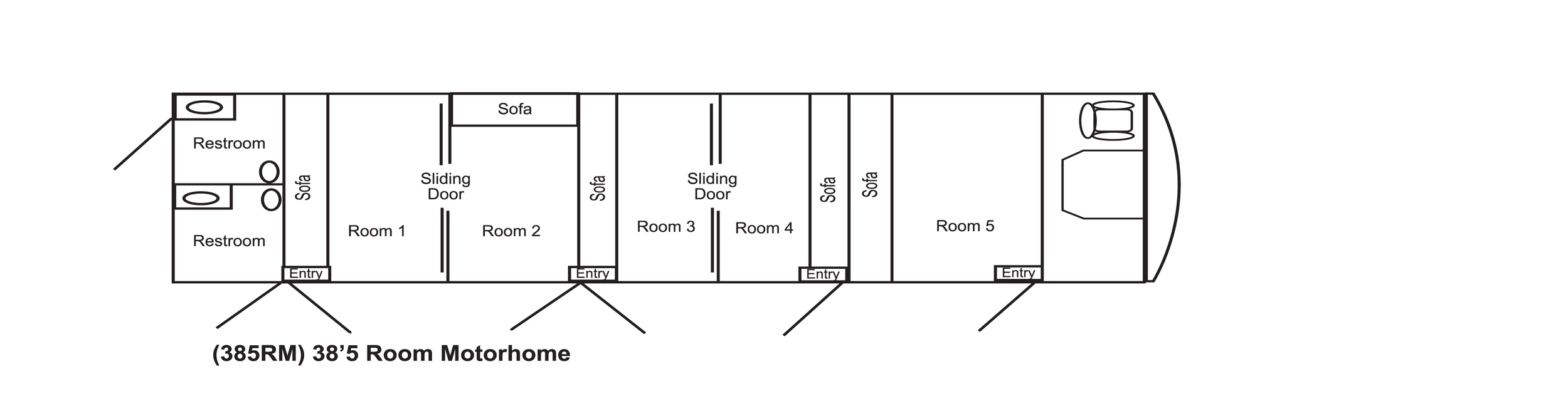 Click to View The 385RM Floorplan.