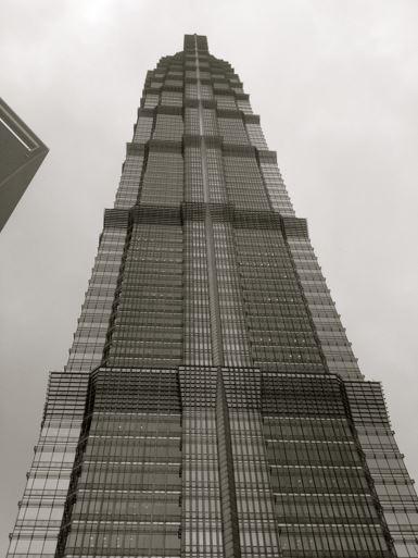 Shanghai has lots of beautiful skyscrapers. Very modern and elegant.