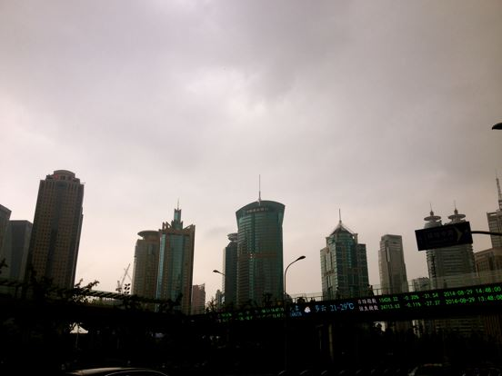 """General landscapes of """"Tall Shanghai"""""""