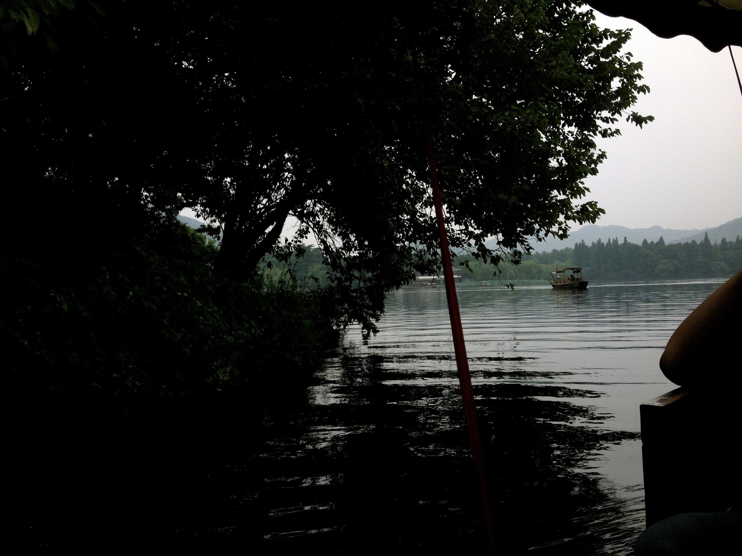 """""""Xihu Lake"""" famous attraction in Hangzhou"""