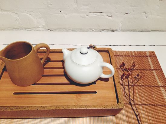 Tea, the all-day drink, drunk at the beginning of Chinese meals
