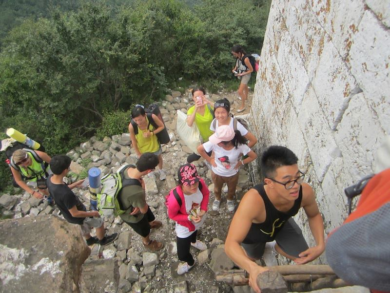 Great Wall Camping Trip