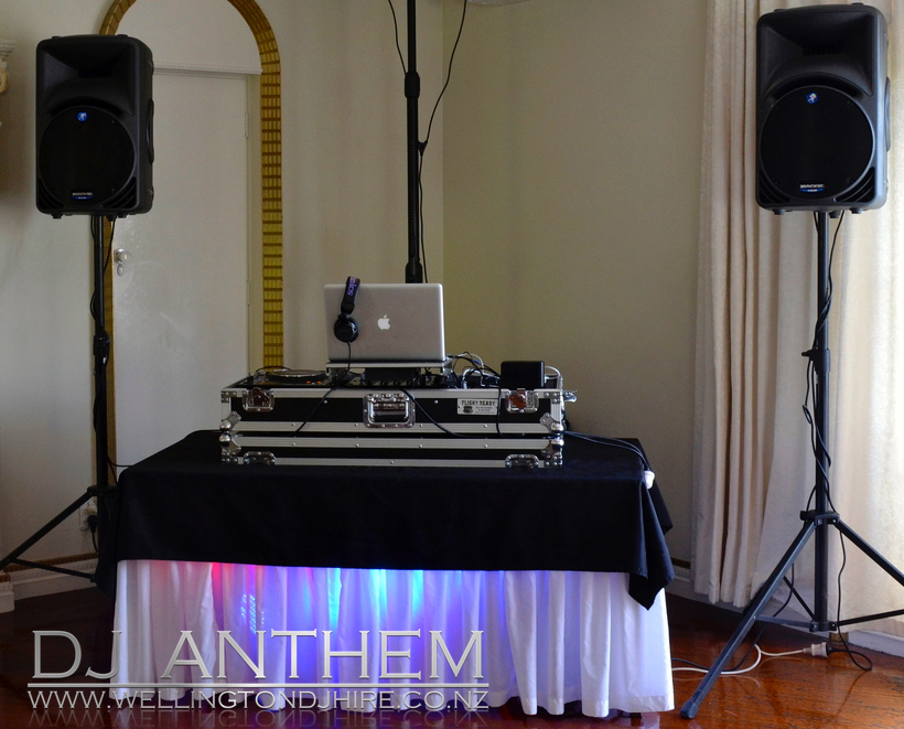 Wellington DJ Hire 50th Birthday setup.jpg