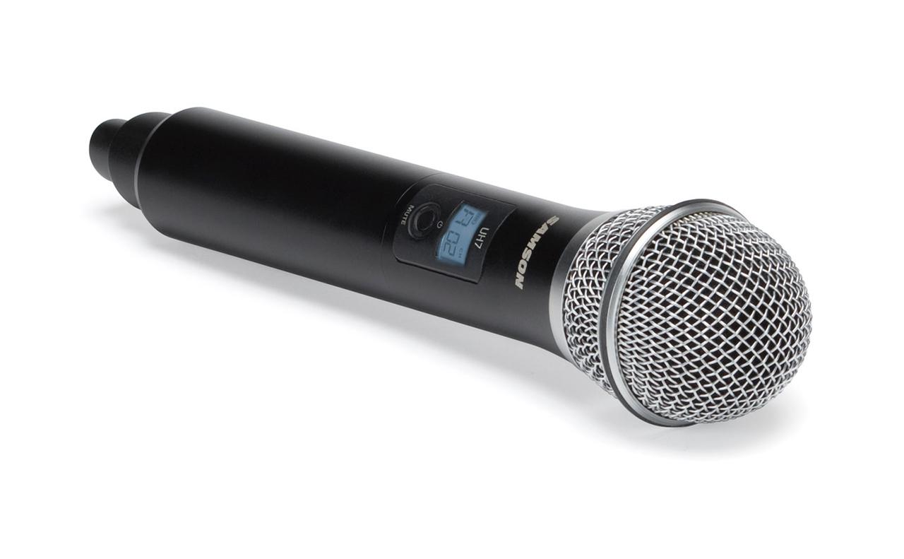 Wellington wireless microphone hire Handheld Transmitter.jpg