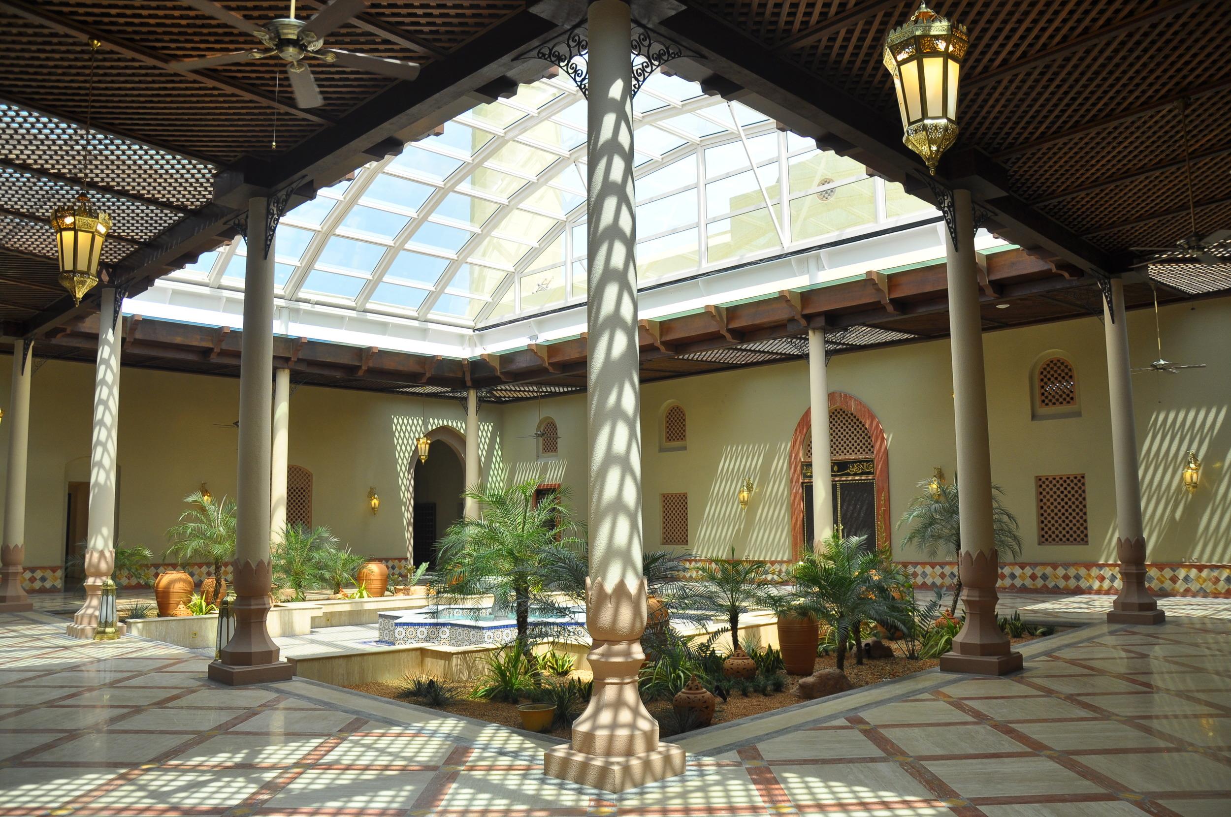 courtyard, masjid Ash Saliheen