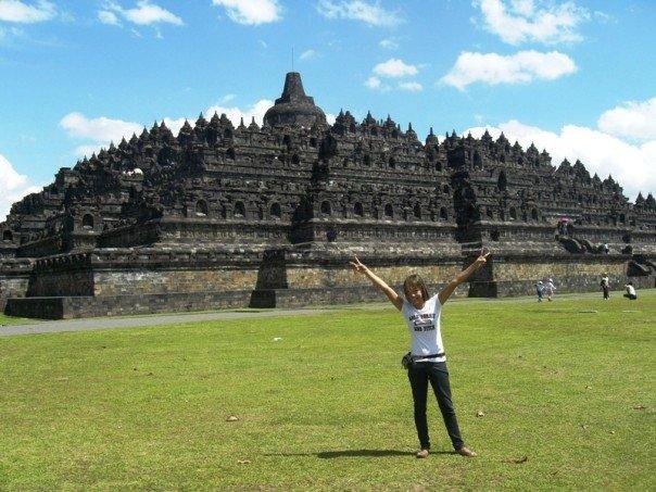 Christina Buiza in Indonesia