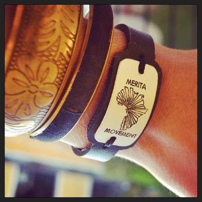 Merita Movement bracelet by Ugandan artist Joel Balimanya
