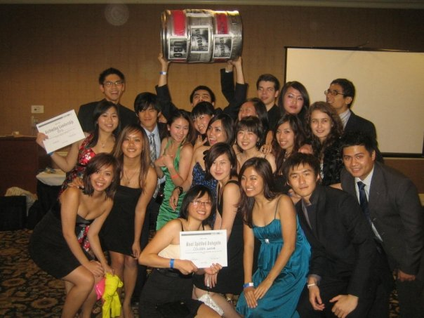 AIESEC SFU winning the Spirit Keg as Most Spirited at Western Regional Conference 2009