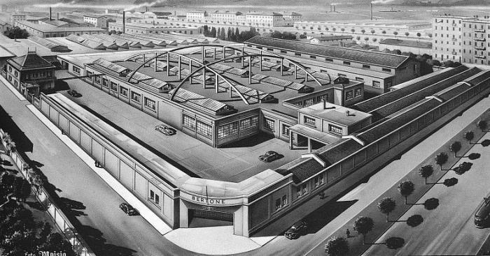 Bertone Factory - Late 1950s