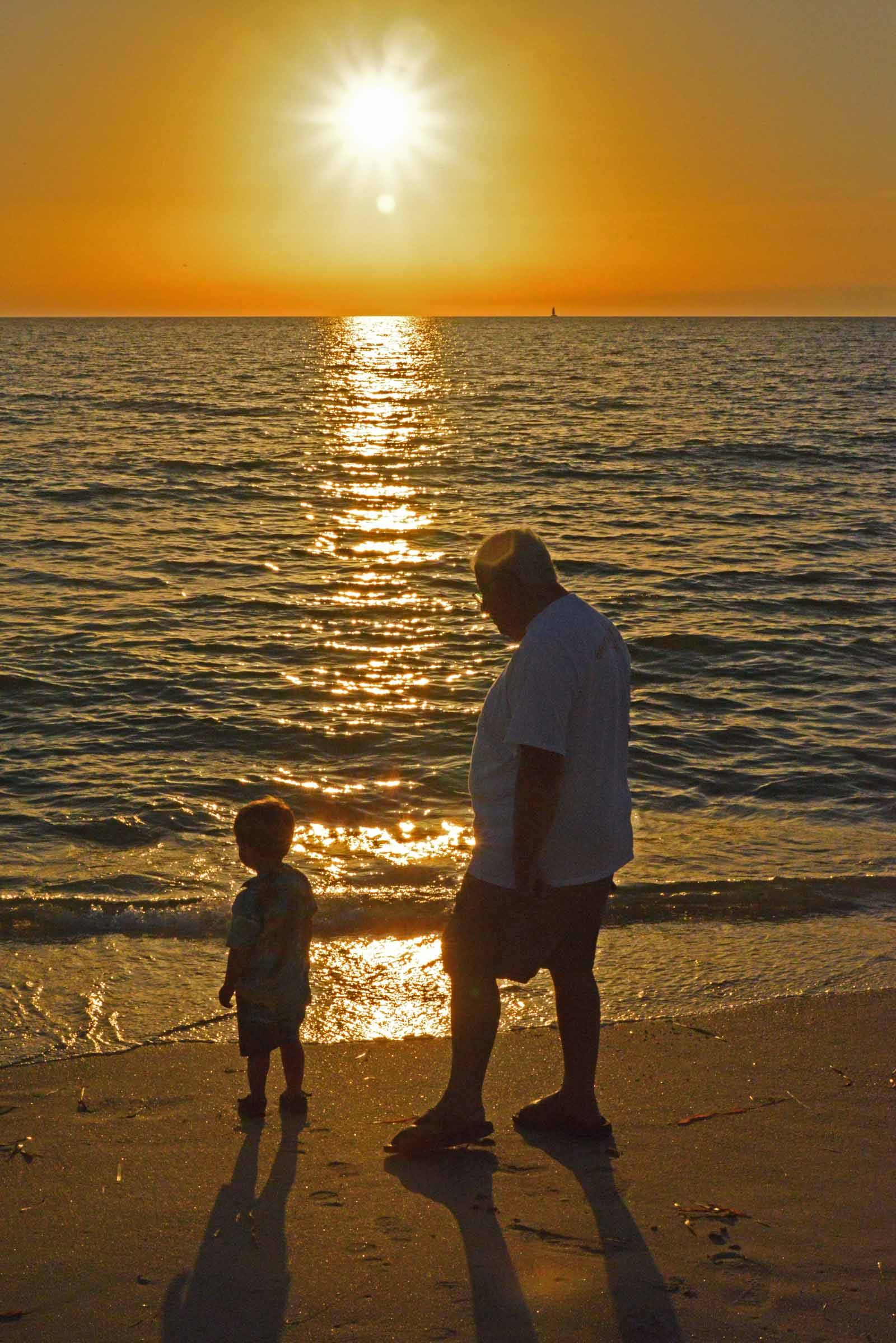 Walid's On Beach Sunset 2013.jpg