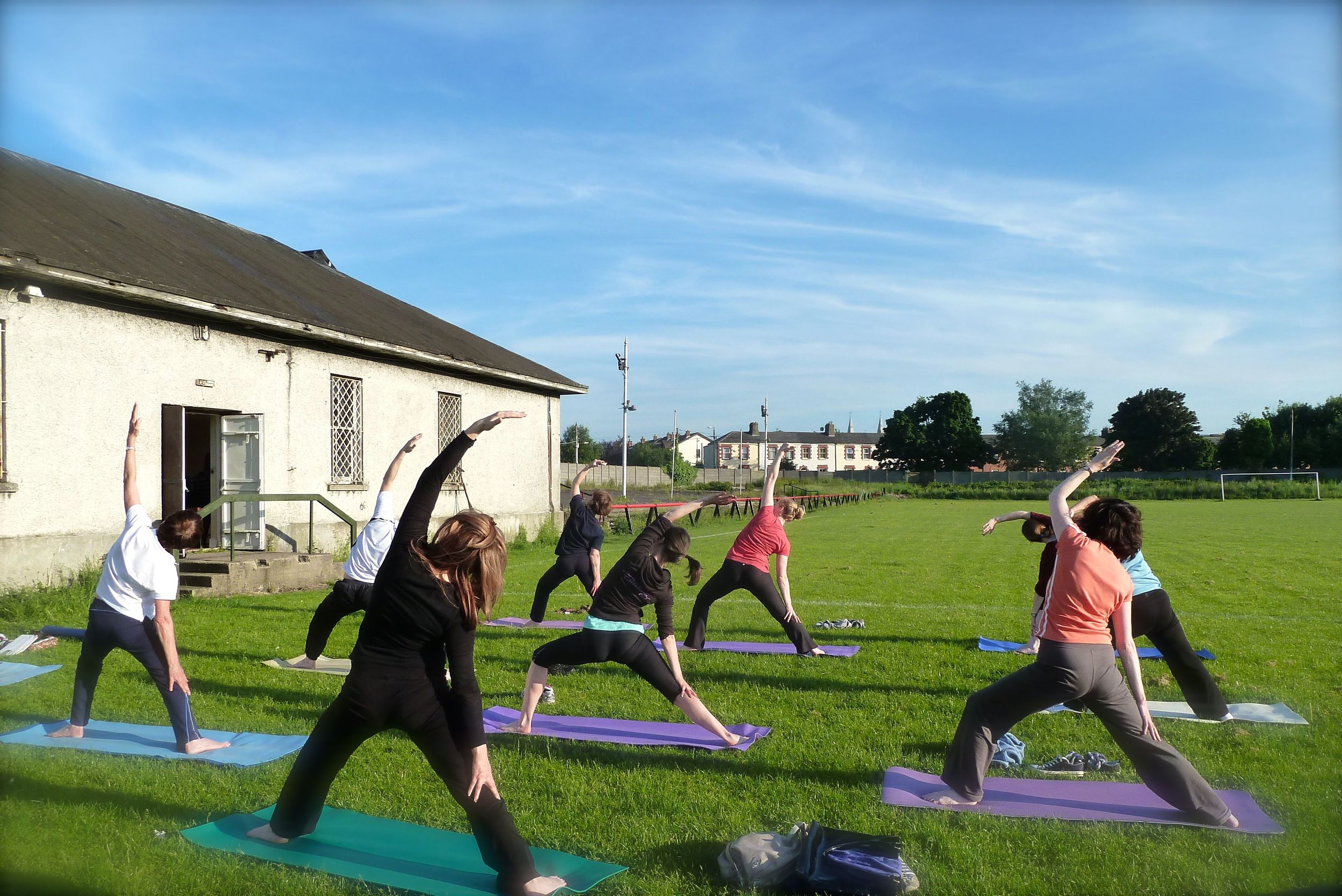 Classes at the Inchicore Sports and Social Club