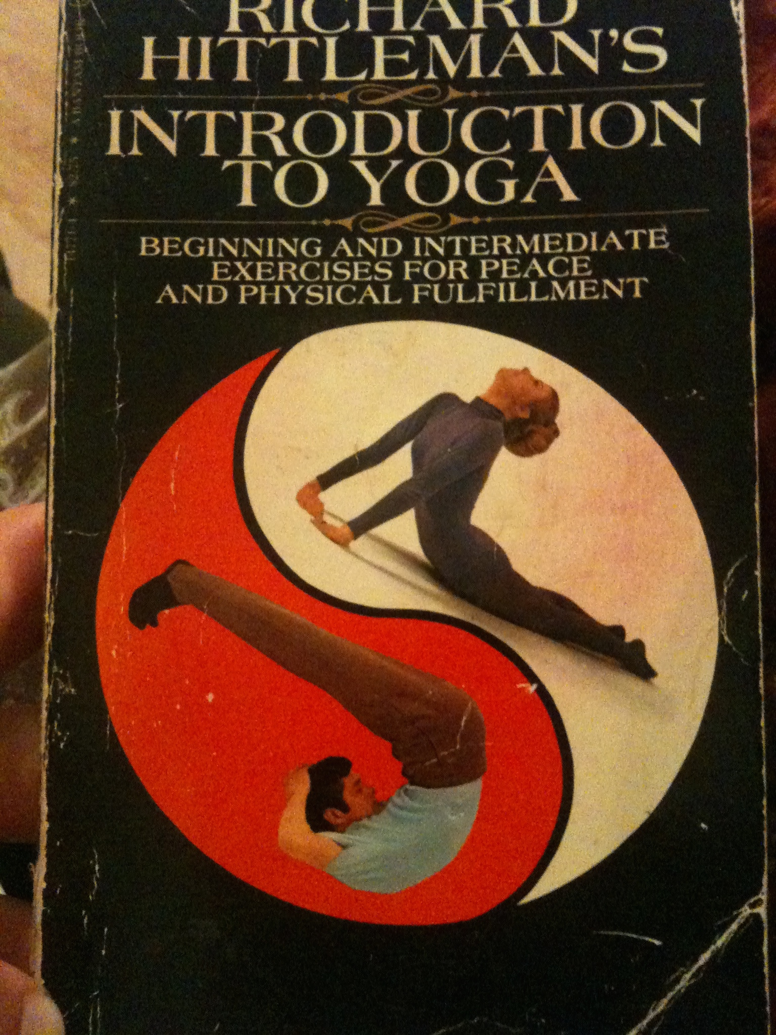 One of my first Yoga Books