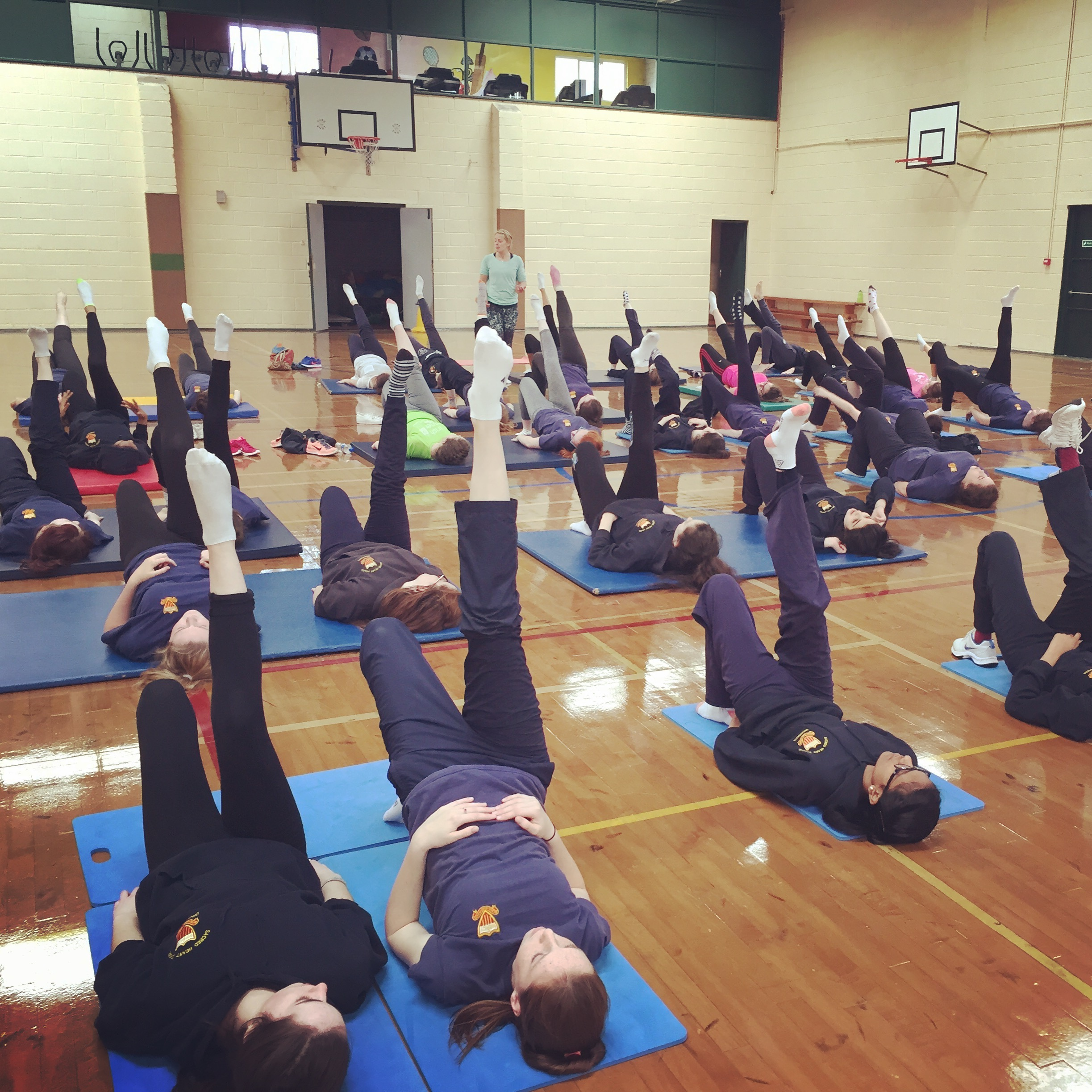 Yoga and Pilates for Schools Pupils