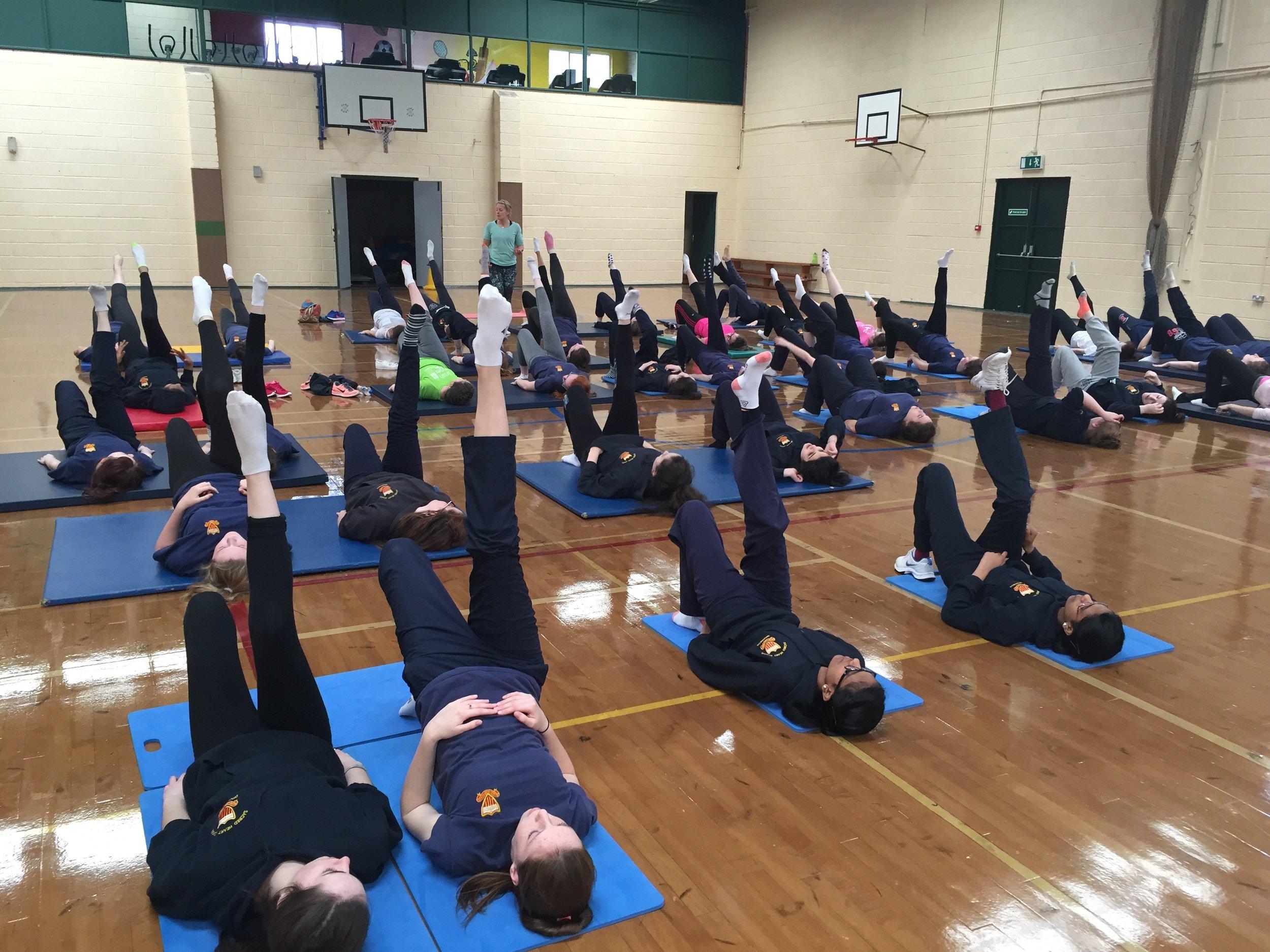 Yoga for Schools, Dublin