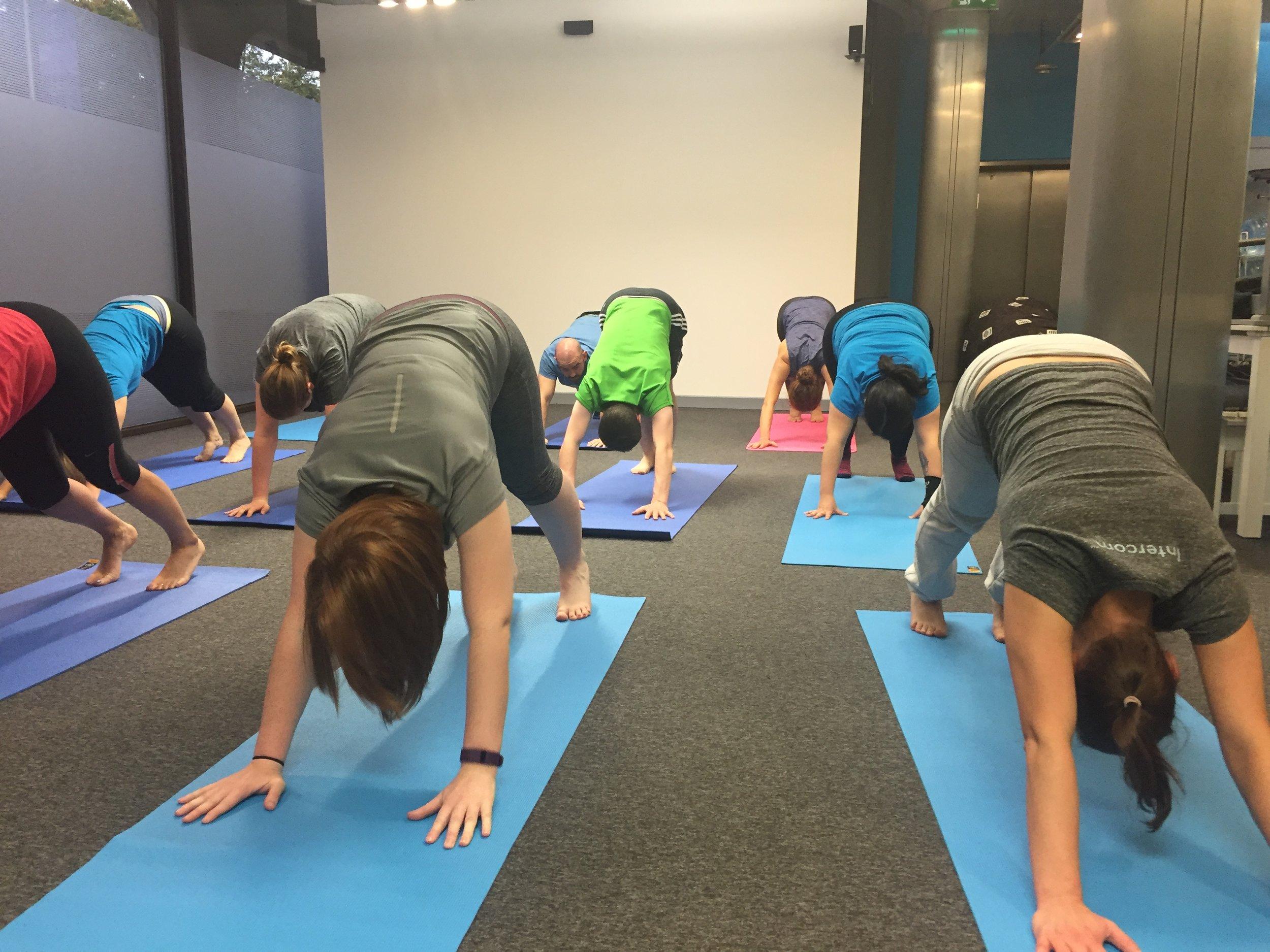 Corporate Yoga and Pilates, Dublin