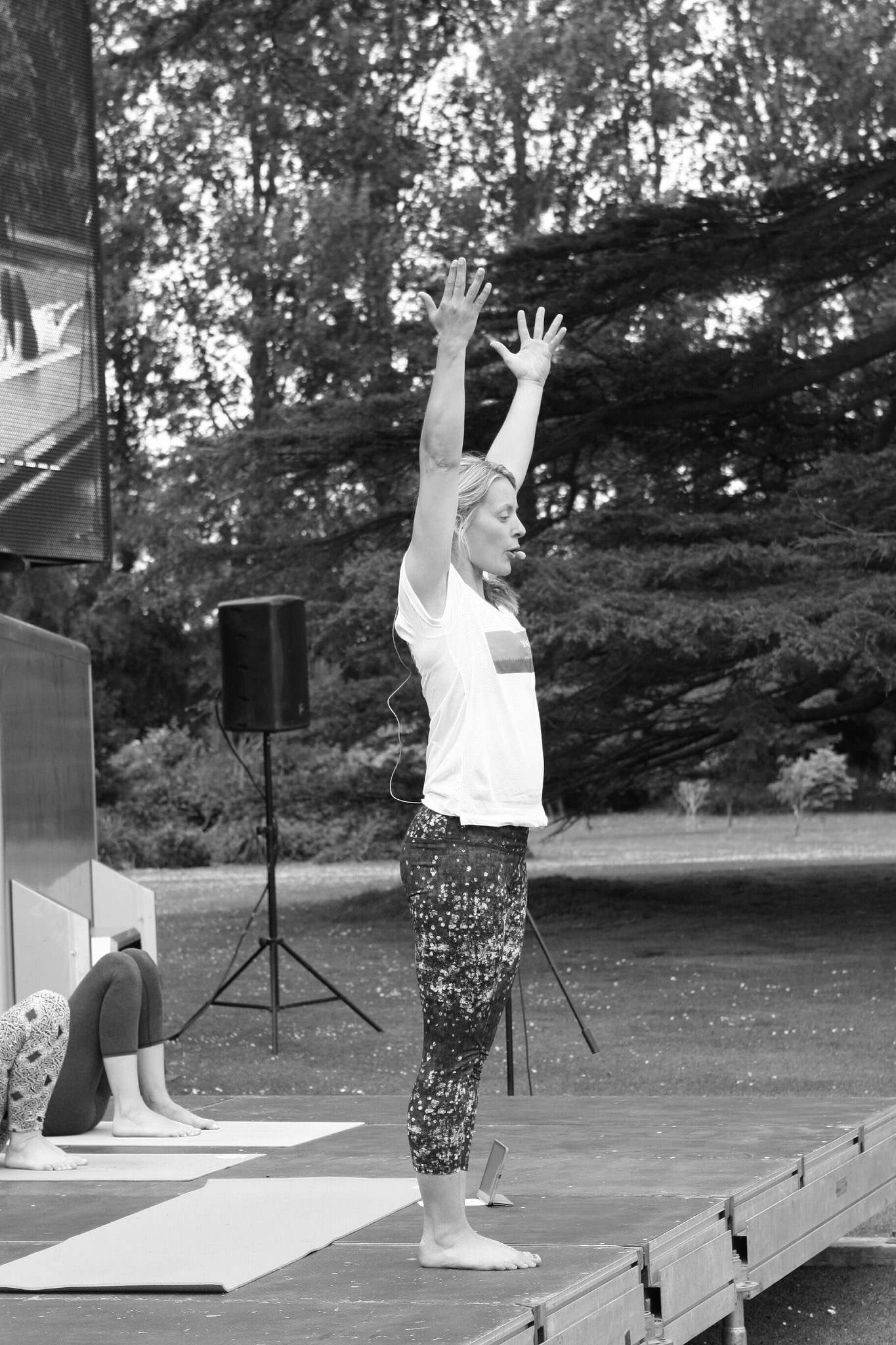 Yoga in the Park, Malahide