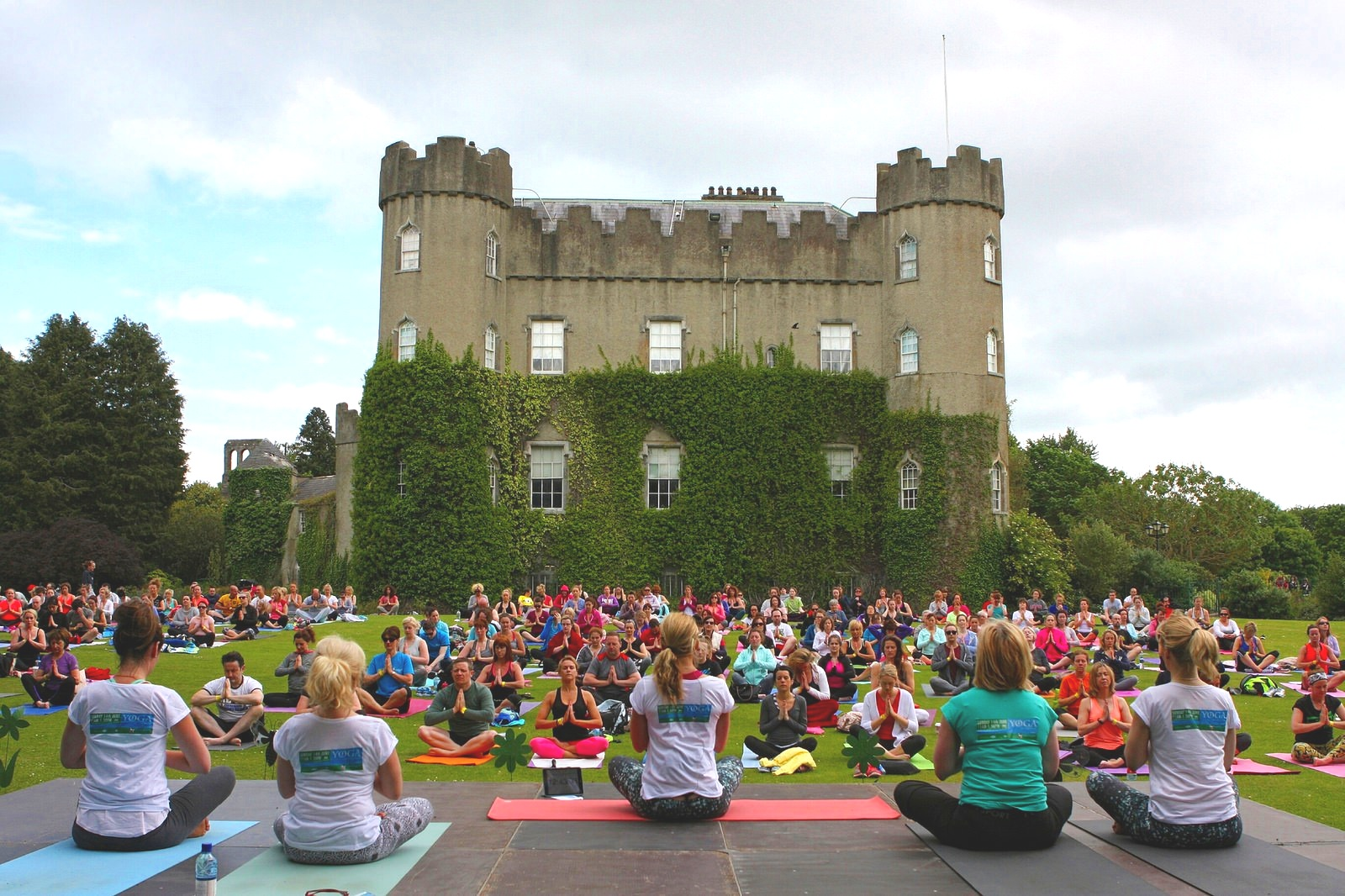 Yoga in the Park, Malahide