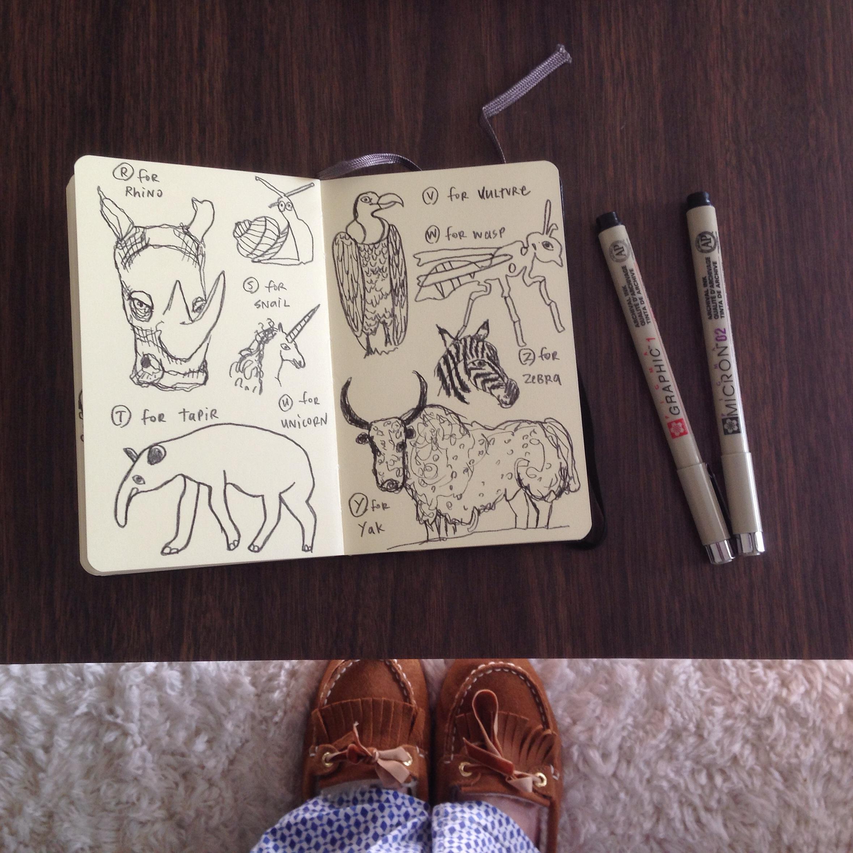 animals R->Z | year of creative habits