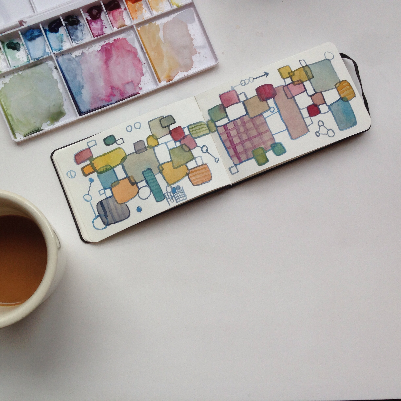 watercolor | 132 year of creative habits