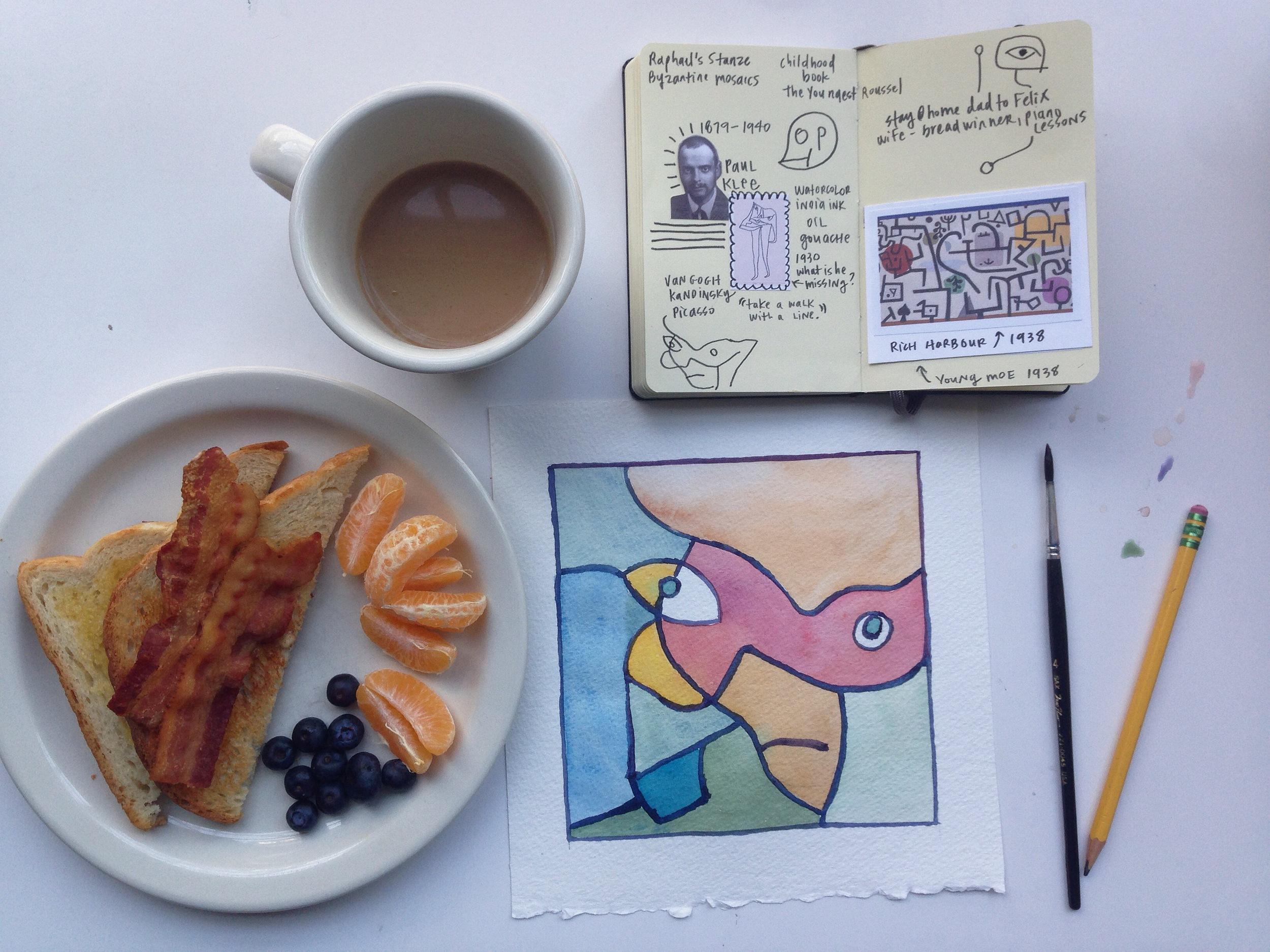 paul klee | year of creative habits