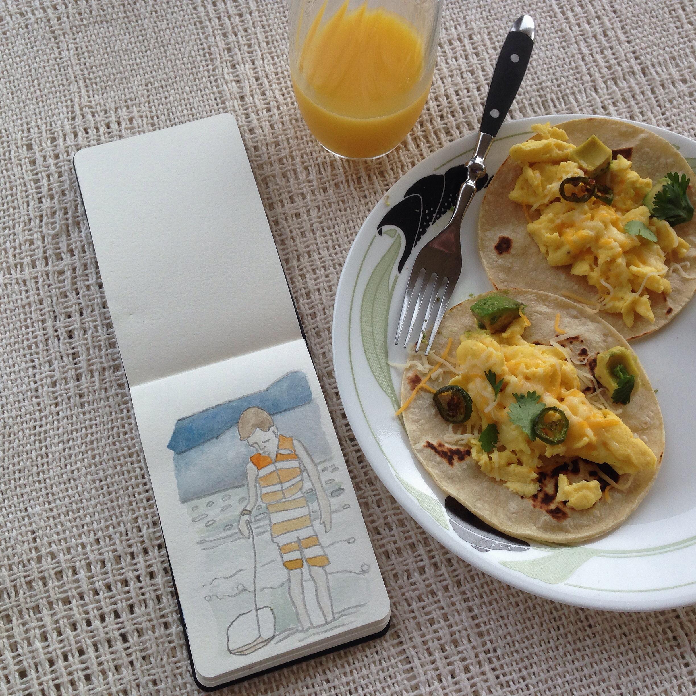 breakfast burritos | year of creative habits