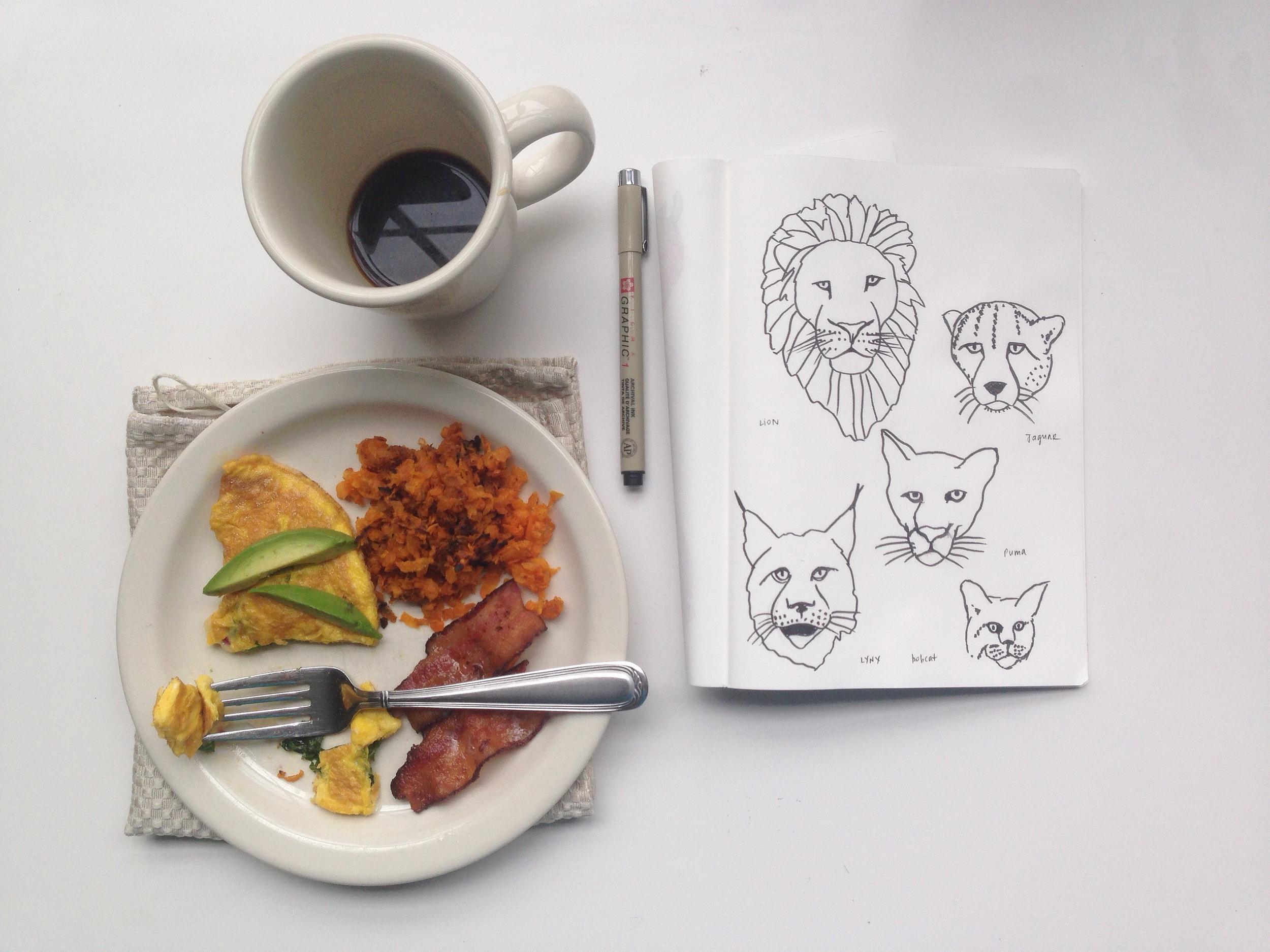 kitties | year of creative habits