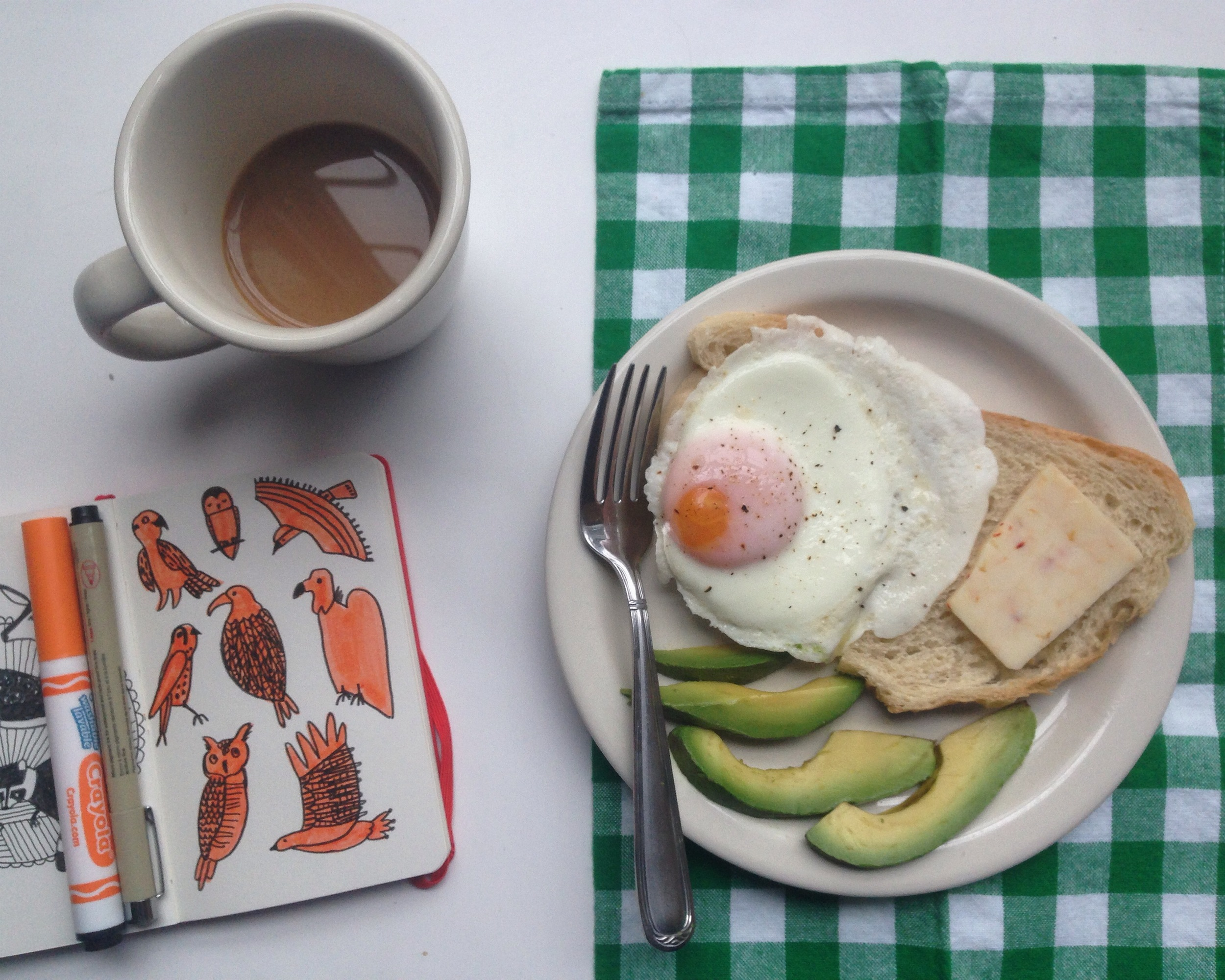 birds + egg   year of creative habits